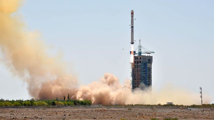 CHINA SUCCESSFULLY LAUNCHES X-RAY SATELLITE