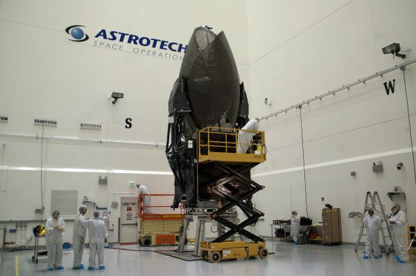 NASA'S TDRS-M SATELLITE BEING READIED FOR UPCOMING LAUNCH