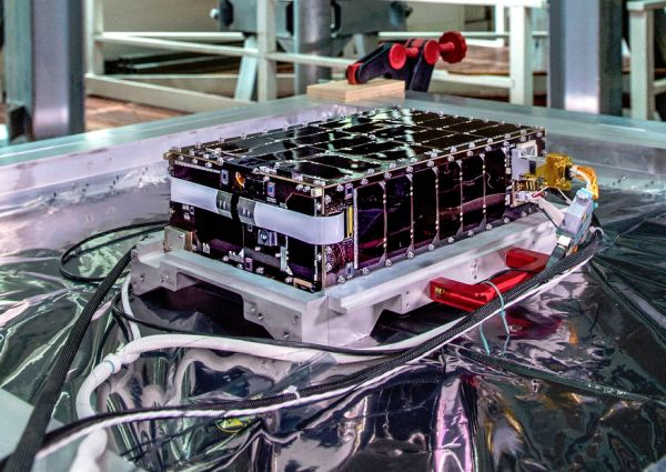 MINI-SATELLITE NAMED AFTER 'GOD OF DAWN' WILL LAUNCH THIS MONTH