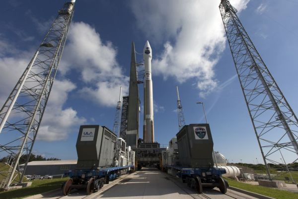 THIS NASA SATELLITE IS READY TO GO TO SPACE AFTER HAVING ITS BROKEN ANTENNA REPLACED
