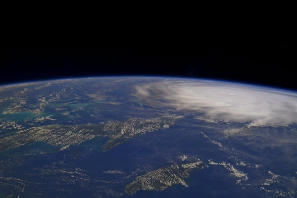 ASTRONAUT TWEETS SOBERING PHOTO OF HURRICANE IRMA FROM SPACE