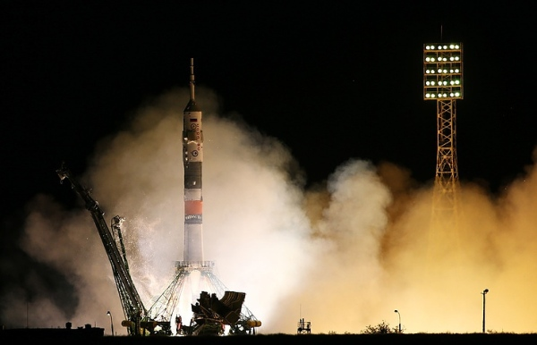 SOYUZ MS-06 SPACECRAFT WITH CREW OF THREE LAUNCHED FROM BAIKONUR
