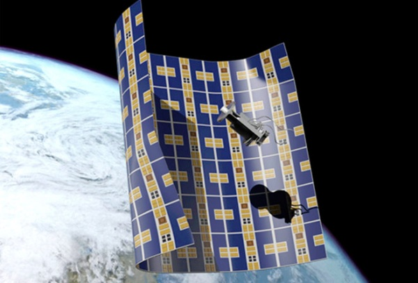 THIS ULTRATHIN CRAFT COULD SOON ENVELOP AND DESTROY SPACE JUNK