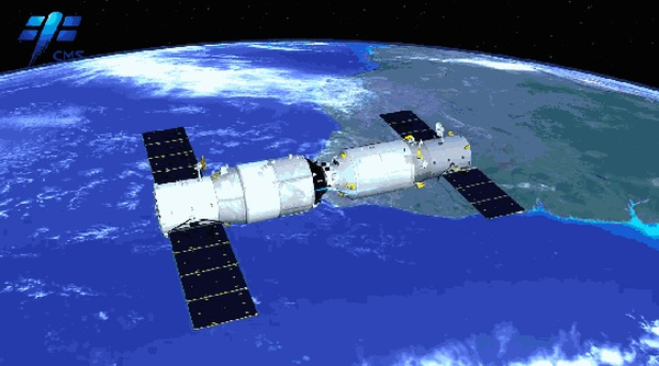 CHINESE SPACE STATION FREIGHTER CONCLUDES REFUELING DEMO MISSION