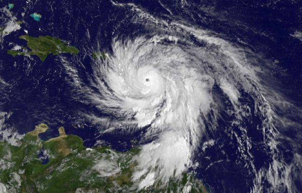 SATELLITES TRACKING POWERFUL HURRICANE MARIA FROM SPACE
