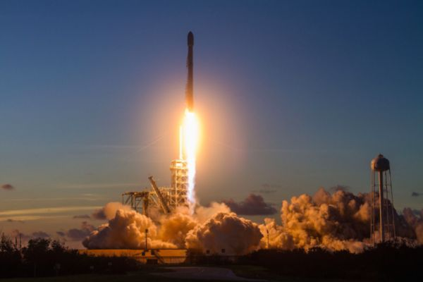 SPACEX LAUNCHES ITS 15TH MISSION OF THE YEAR