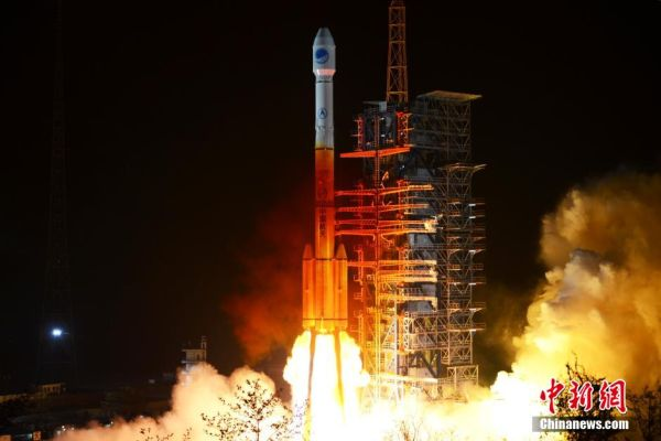 CHINA LAUNCHES TWO BEIDOU SATELLITES IN RETURN TO FLIGHT FOR LONG MARCH 3B ROCKET