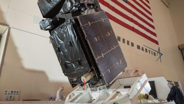 Lockheed Martin-built satellite poised for Florida launch