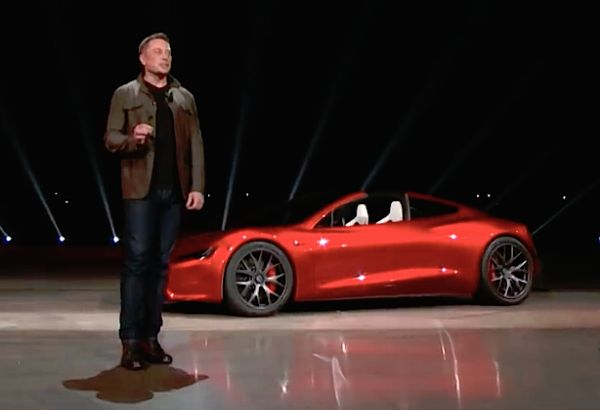 SPACEX WILL TRY TO LAUNCH ELON MUSK'S TESLA ROADSTER ON NEW HEAVY-LIFT ROCKET