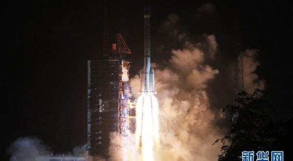 CHINESE LONG MARCH 3B LAUNCHES ALGERIA'S FIRST TELECOM SATELLITE