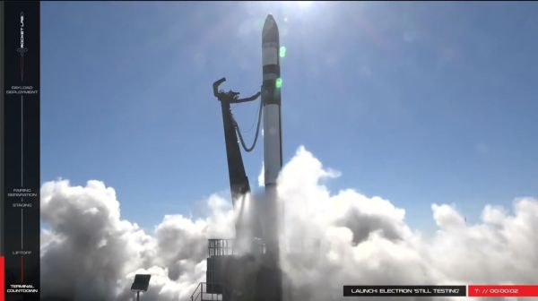 ROCKET LAB ABORTS TEST LAUNCH SECONDS BEFORE LIFTOFF