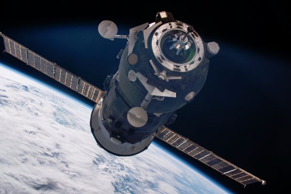 Progress MS-06 freighter undocks from ISS