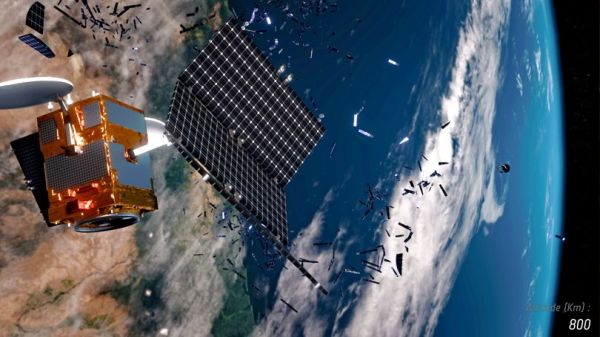 CHINA'S BOLD PROPOSAL TO ZAP SPACE JUNK FROM EARTH'S ORBIT WITH LASERS