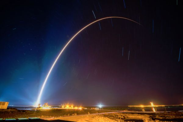 U.S. MILITARY SATELLITE LAUNCHED TO FORTIFY AGAINST MISSILE ATTACKS