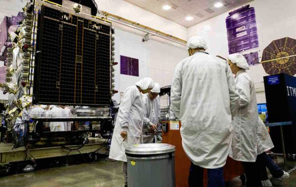 Luxembourg-backed telecom craft set for launch on reused Falcon 9 rocket