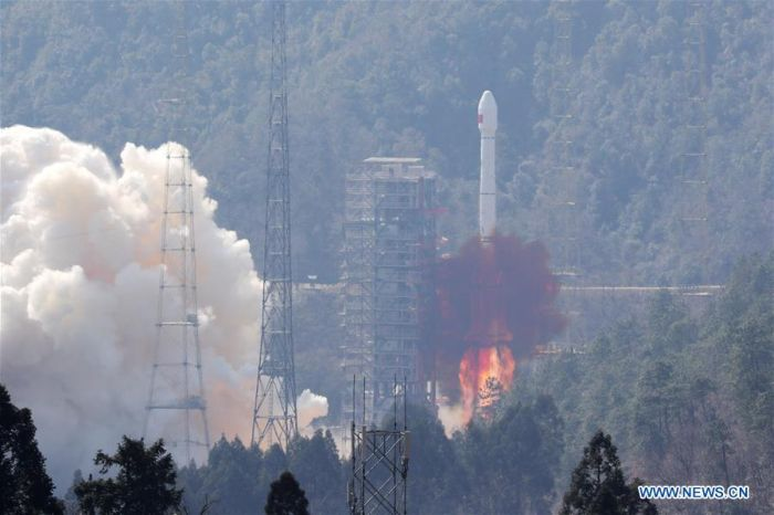 CHINA ADDS TWO MORE SATELLITES TO HOME-GROWN NAVIGATION NETWORK