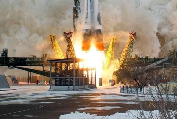 Russian cargo ship docks at International Space Station