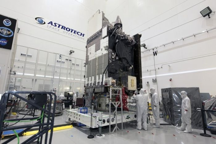 GOES-S TO LAUNCH NEXT WEEK JOINING GOES-16 IN NOAA'S NEW GENERATION OF WEATHER SATELLITES