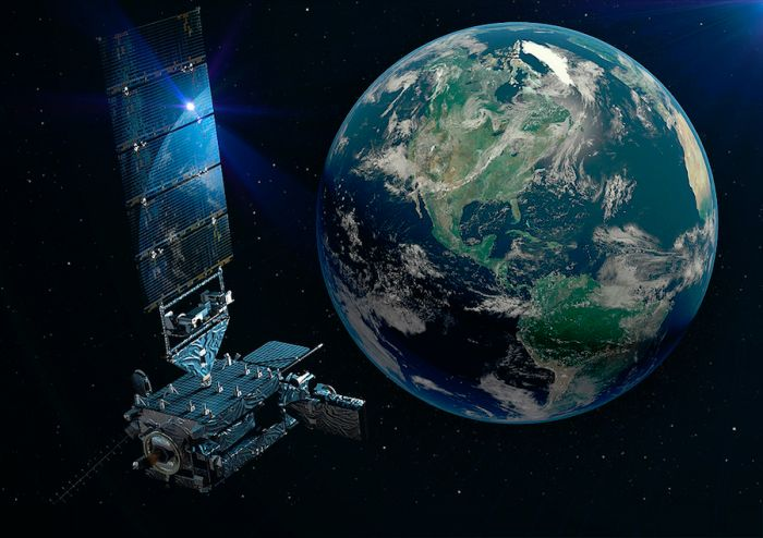 NEW NOAA WEATHER SATELLITE REACHES GEOSTATIONARY ORBIT