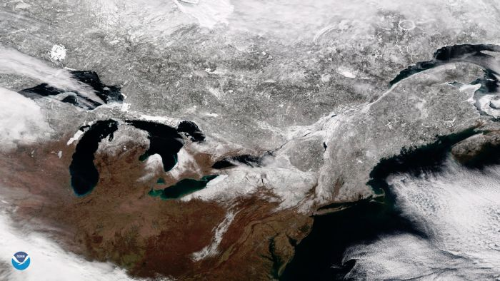 VERNAL EQUINOX 2018: SATELLITE SEES FIRST DAY OF SPRING