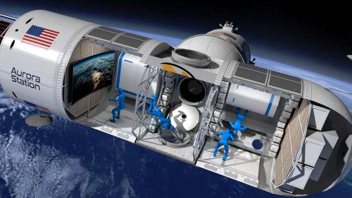 First luxury hotel in space announced
