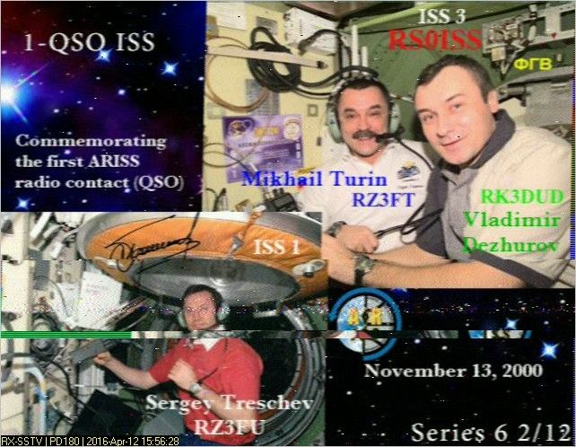 RUSSIAN ISS SSTV EVENT TO CELEBRATE COSMONAUTICS DAY