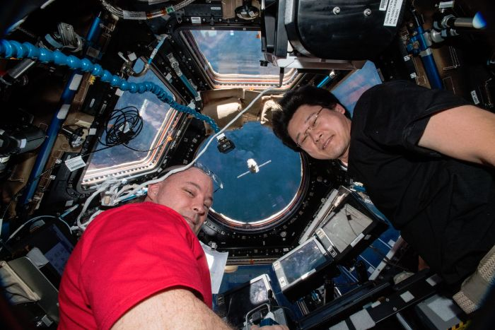 THERE'S A LOT OF SPERM ON THE INTERNATIONAL SPACE STATION RIGHT NOW