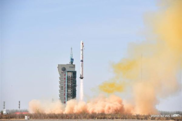 CHINESE LONG MARCH 4C ROCKET DEPLOYS FOUR SATELLITES IN ORBIT