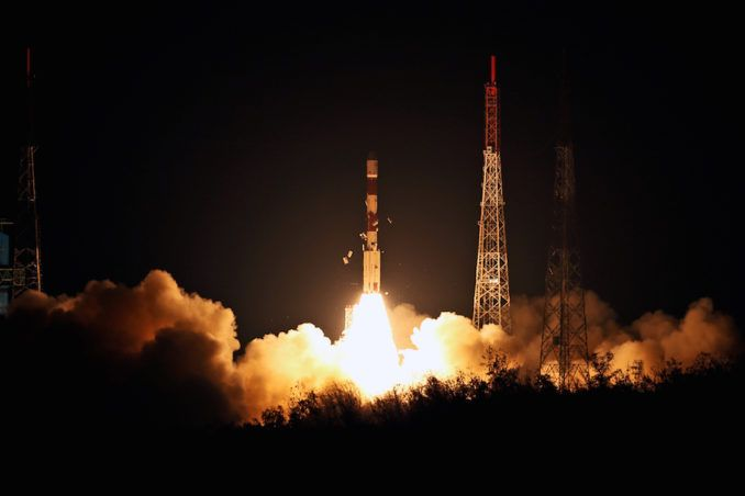 ISRO LAUNCHES FOR SECOND TIME IN TWO WEEKS
