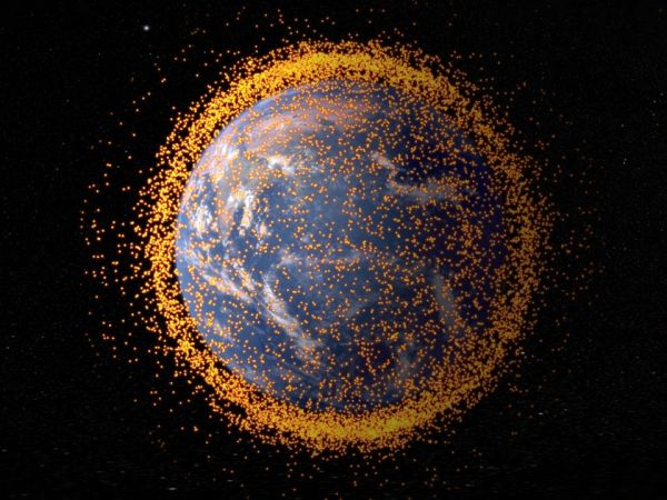 THE US GOVERNMENT LOGGED 308,984 POTENTIAL SPACE-JUNK COLLISIONS IN 2017