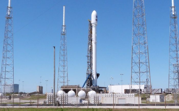 SPACEX SCRUBS FIRST ATTEMPT TO LAUNCH TESS ON A MISSION TO SEARCH FOR NEAR-EARTH EXOPLANETS