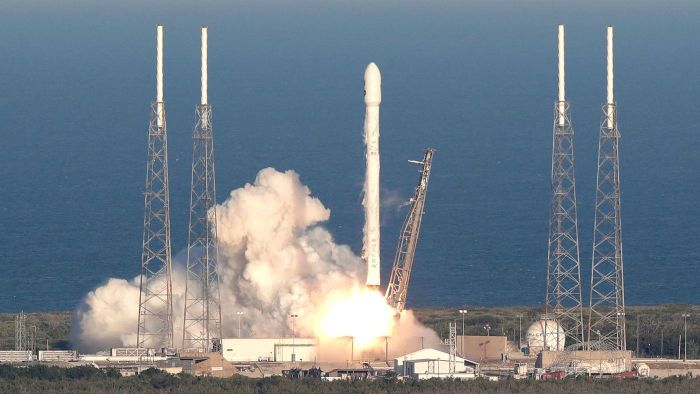 SpaceX scrubs launch of latest Falcon 9 rocket, will try again Friday