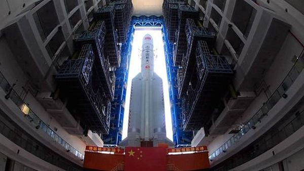 CHINA'S SPACE AMBITIONS CONTINUE WITH REPORTED LAUNCH OF SATELLITE TO EXPLORE FAR SIDE OF THE MOON