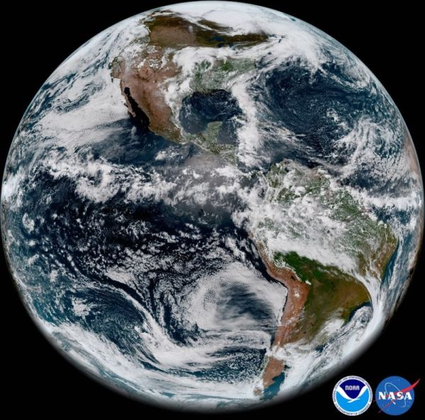 NOAA'S MOST ADVANCED WEATHER SATELLITE CAPTURES STUNNING IMAGES