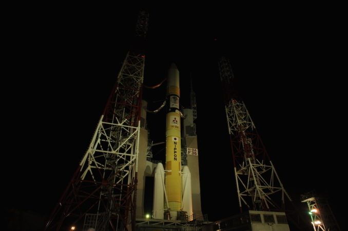 POOR WEATHER FORECAST DELAYS H-2A ROCKET LAUNCH