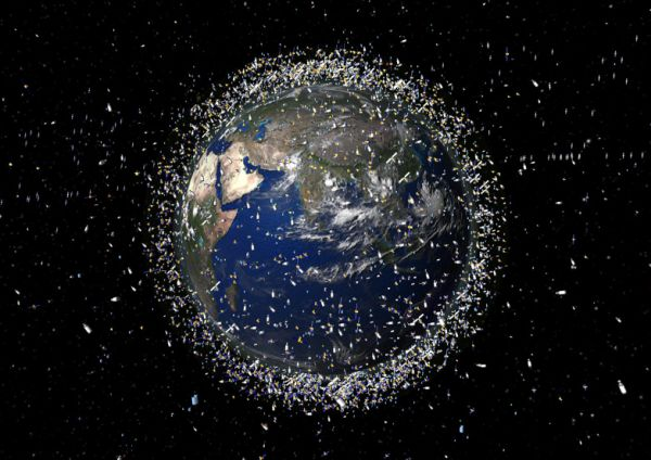 RUSSIA WANTS TO ZAP SPACE JUNK WITH A HUGE FRICKIN' LASER