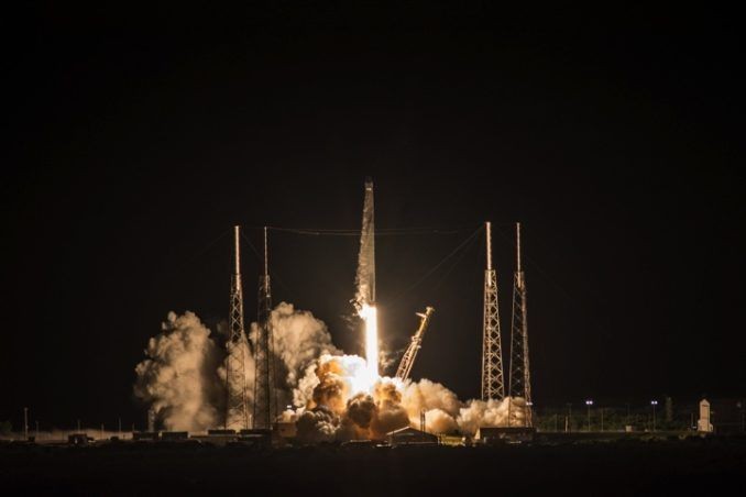 SPACEX LAUNCHES AI-ENABLED ROBOT COMPANION, VEGETATION MONITOR TO SPACE STATION