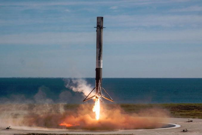 SPACEX COULD TRY TO LAND ROCKET IN CALIFORNIA LATER THIS YEAR