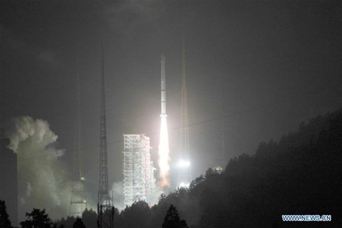 Chinese navigation satellite deployed by Long March rocket