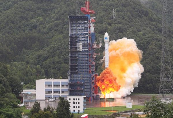Long March 3B sends BeiDou-3 satellite duo into space