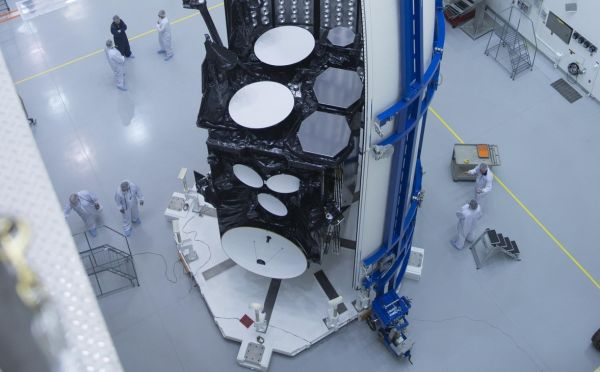 The Air Force's next communications satellite arrives in Florida