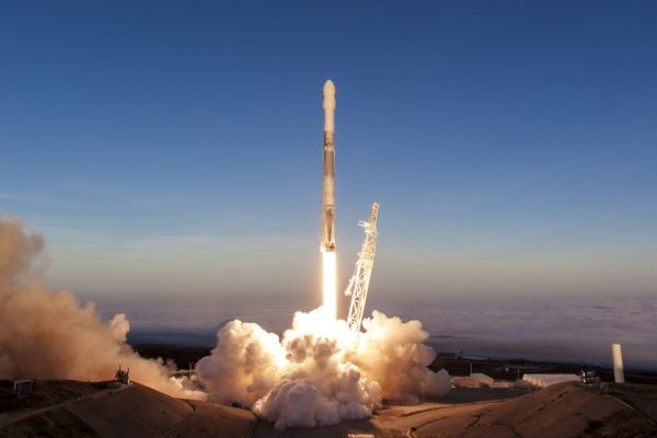 LATER THIS YEAR, A SPACEX FALCON 9 ROCKET WILL LAUNCH ITS BIGGEST BATCH OF SATELLITES YET