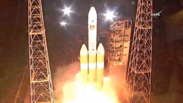ON 'MISSION TO TOUCH THE SUN,' PARKER SOLAR PROBE HAS LAUNCHED