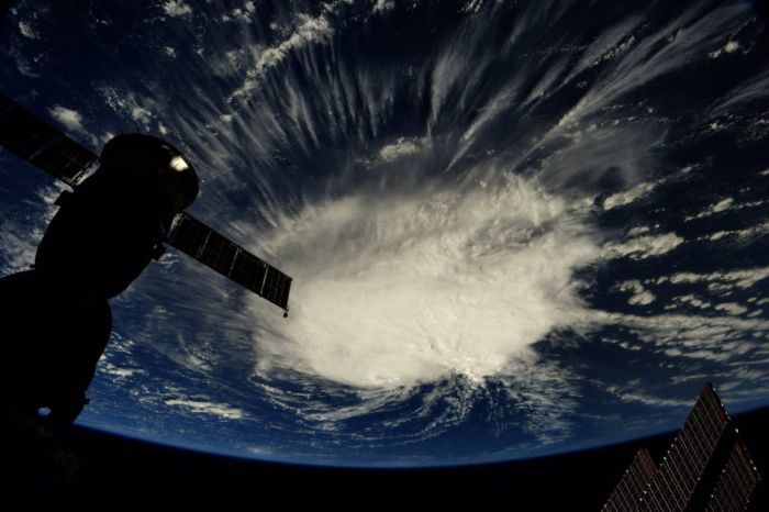Hurricane Florence Looks Like a Giant Cotton Ball in This Astronaut Photo from Space