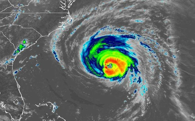 HURRICANE FLORENCE: HOW SATELLITES ARE TRACKING THE MONSTER STORM FROM SPACE