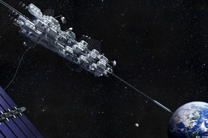 JAPAN'S MINI SPACE ELEVATOR GOES TO SPACE