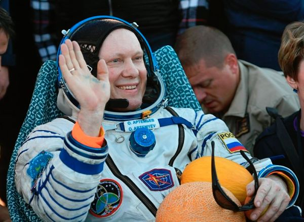 Capsule Carrying 3 Space Station Crew Members Lands Safely on Earth
