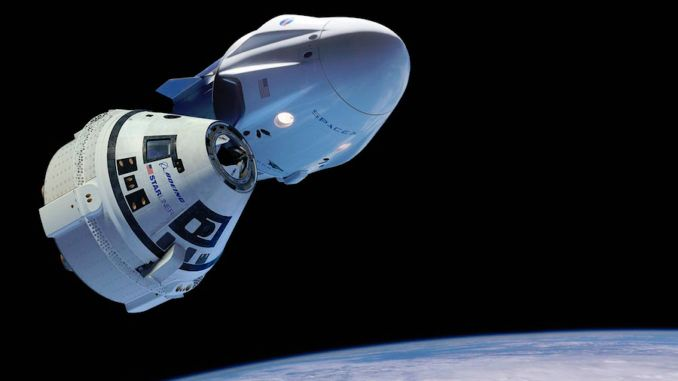 NO COMMERCIAL CREW TEST FLIGHTS EXPECTED THIS YEAR