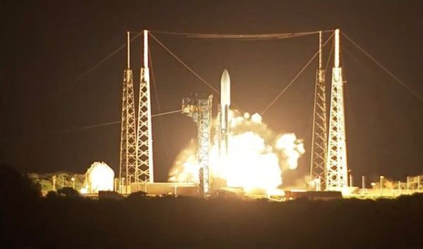 JAM-RESISTANT US MILITARY COMMUNICATIONS SATELLITE LIFTS OFF IN MIDNIGHT-HOUR LAUNCH