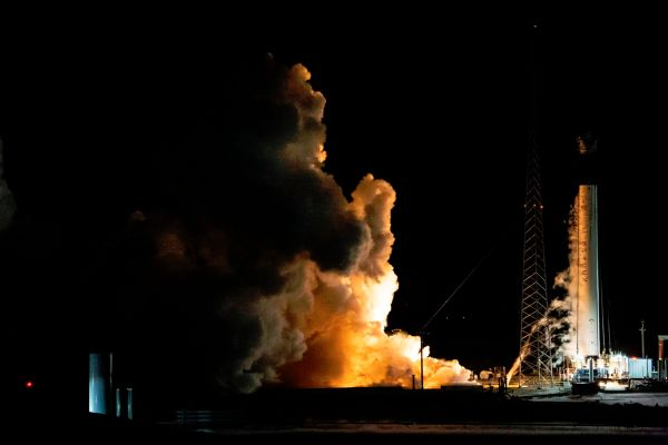SpaceX Fires Rocket for Commercial Crew Test Flight